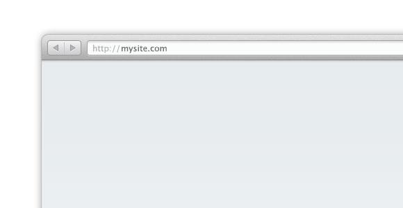 Safari ブラウザー ベクトル PSD モックアップ