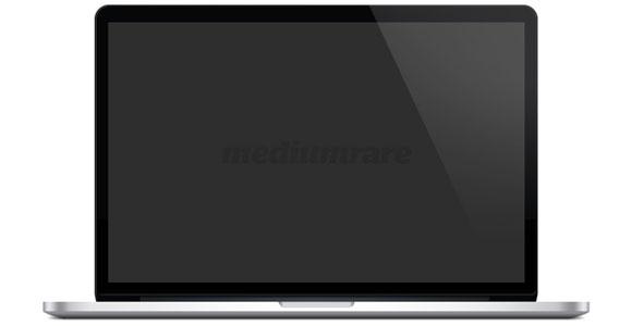 MacBook Pro の網膜 PSD モックアップ