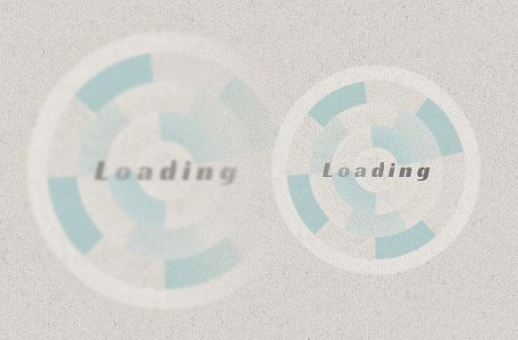 CSS の読み込みのアニメーション
