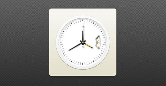 Psd ファイルの日付とアナログ時計