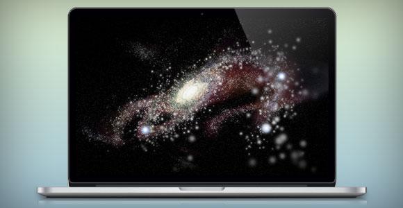 MacBook Pro の PSD のモックアップ