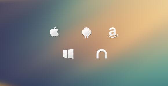 プラットフォームのアイコン無料 psd ファイル