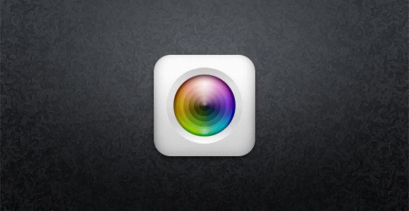 カメラのアプリのアイコン無料 psd ファイル