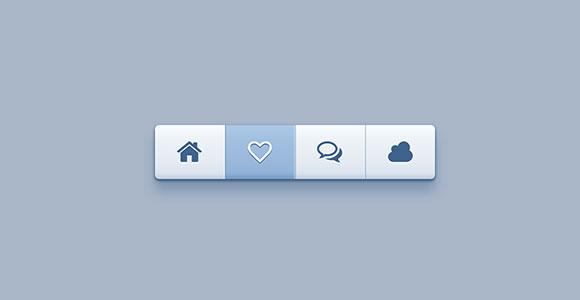 ツールバーの CSS のスニペット