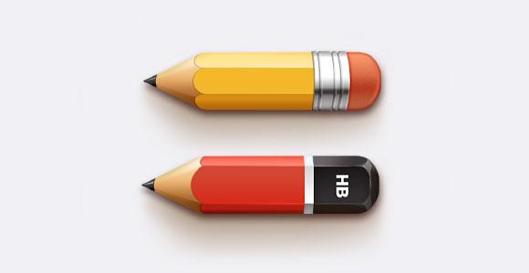 鉛筆無料 psd ファイル