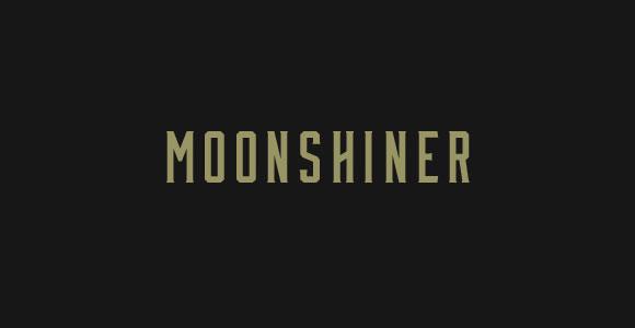 Moonshiner フリー フォント