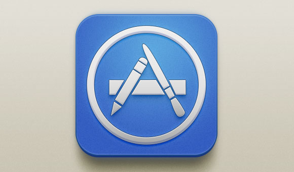 App Store の無料 PSD アイコン