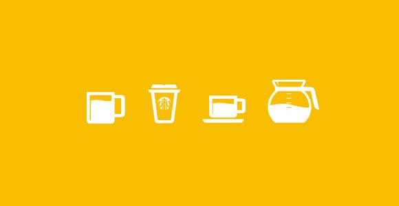 コーヒー カップ PSD アイコン
