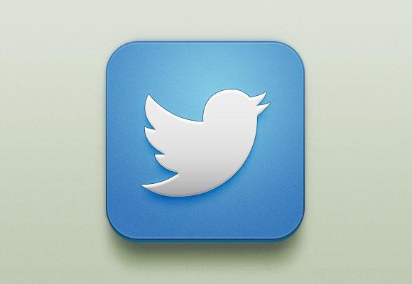 無料 PSD の Twitter の iOS のアイコン