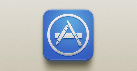 App Store iOS PSD アイコン