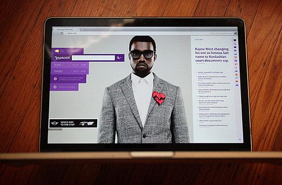 Yahoo.com の再設計 - 無料の PSD