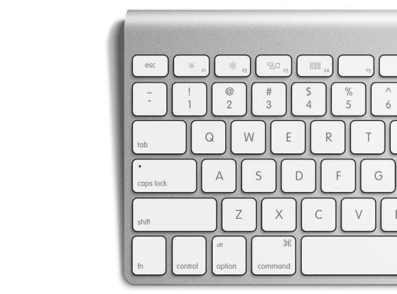 アップル キーボード無料 PSD モックアップ