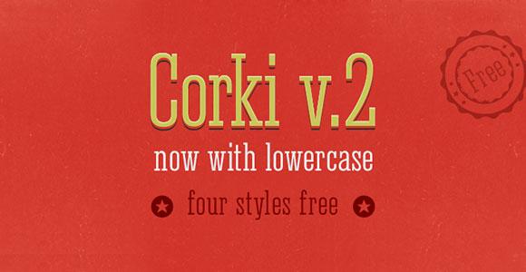 Corki v2 のフリー フォント