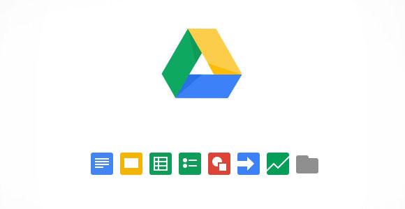 Google ドライブの PSD アイコン