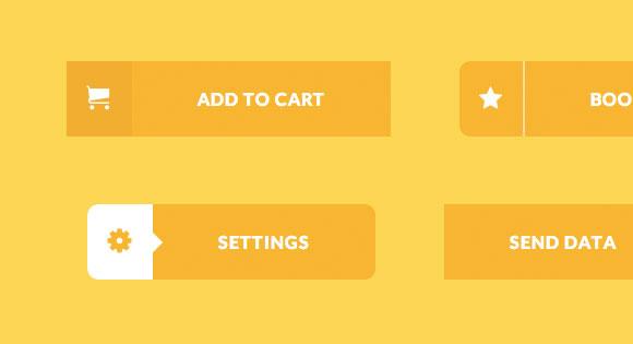 創造的なボタンの CSS を効果します。