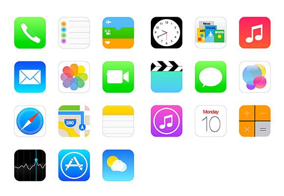 CSS iOS7 アイコン