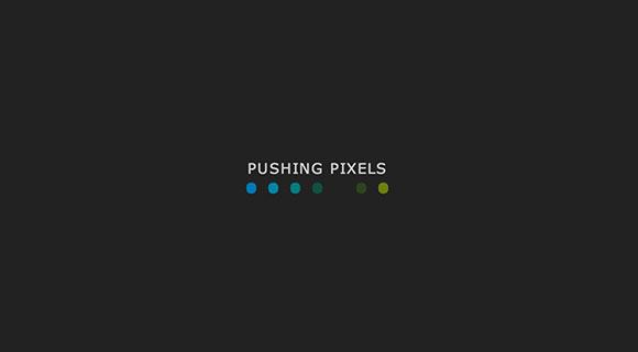 ピクセルの CSS のローダーを押す