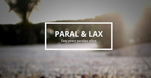 Gmail のニュースレターのテンプレートメール ウィジェット PSDParal & ラックス - 簡単な視差効果