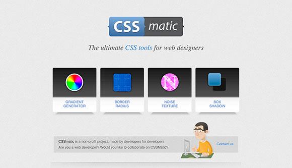 CSSmatic - デザイナーのためのツール