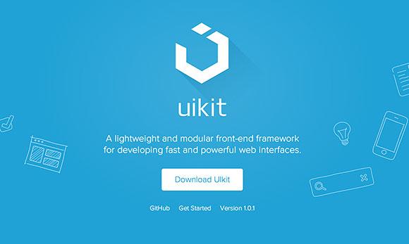 UIkit - 無料フロント エンドのフレームワーク