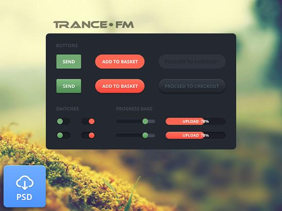 Web 要素 - トランス FM