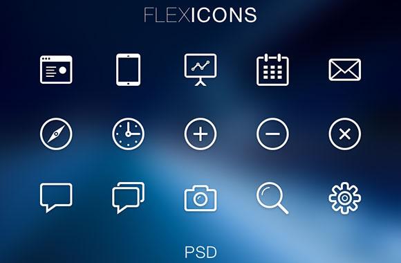 FlexIcons - PSD アイコン