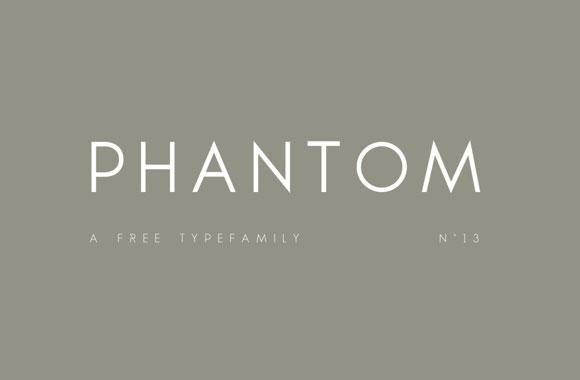 ファントムの無料 typefamily