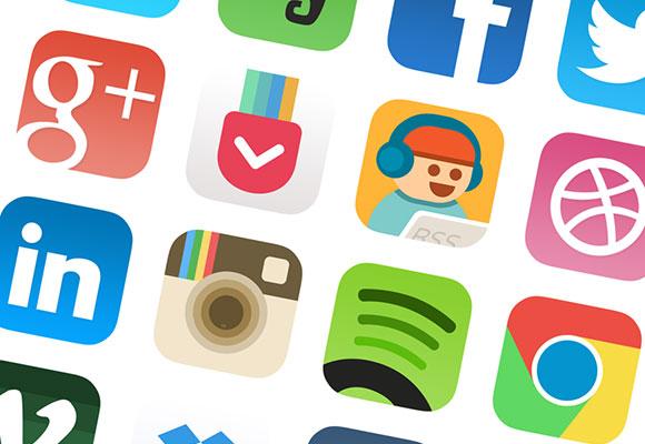 iOS7 アイコン デザイン #2
