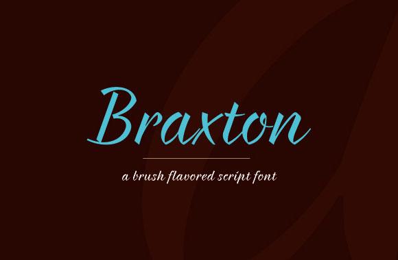 ブラクストンのフリー フォント