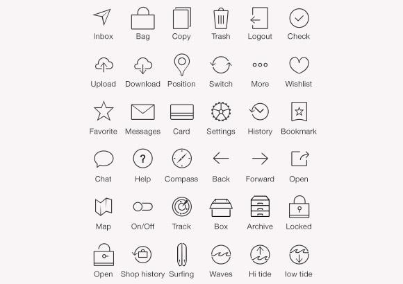36 iOS7 バー タブアイコン