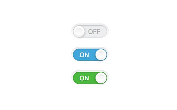 単純なトグル スイッチ CSS