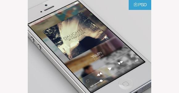 きれいな音楽プレーヤーのアプリ
