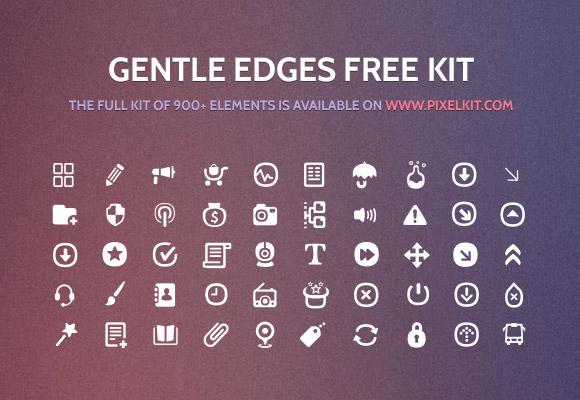 穏やかな PixelKit からエッジ アイコンを設定