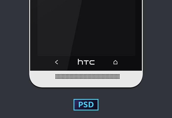 HTC 1 つのモックアップ