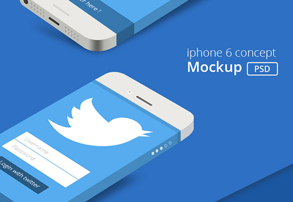 iPhone6 コンセプト実物大模型