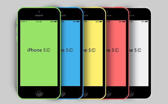 GF から iPhone5C のモックアップ