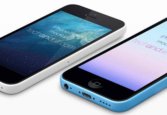iPhone5C 視点モックアップ #2