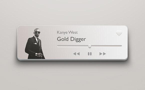 コンパクトな 3 D 音楽プレイヤー