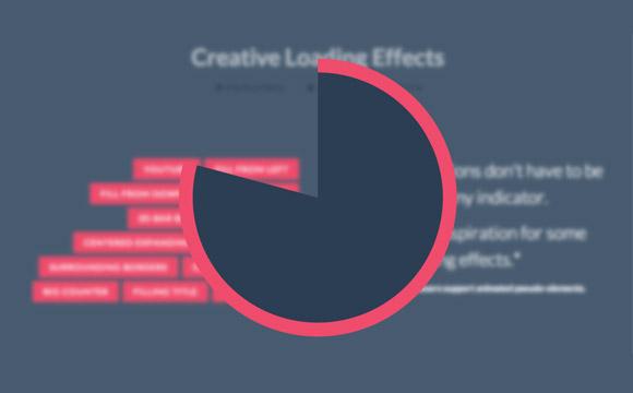 CSS の創造的な荷重の影響