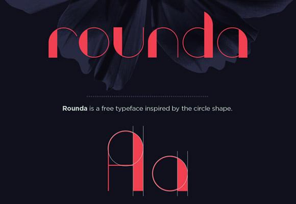 Rounda フリー フォント