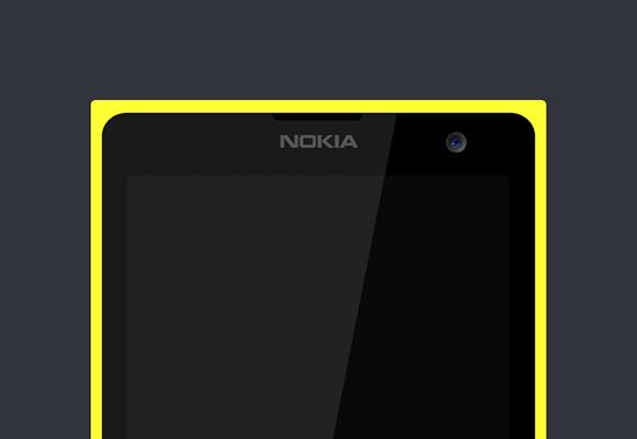 Lumia 1020 PSD モックアップ