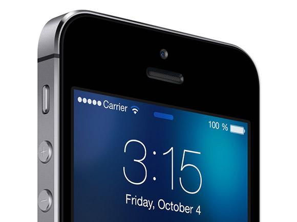 iOS7 lockscreen テンプレート