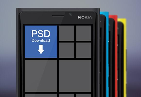 ノキア Lumia 920 モックアップ