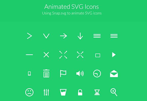 SVG のアニメーション アイコン