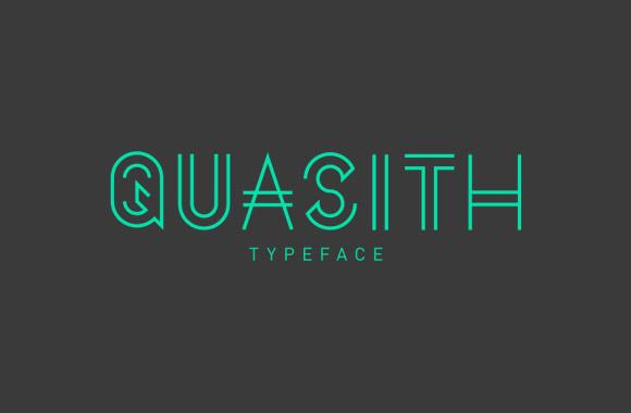Quasith の正規のフリー フォント