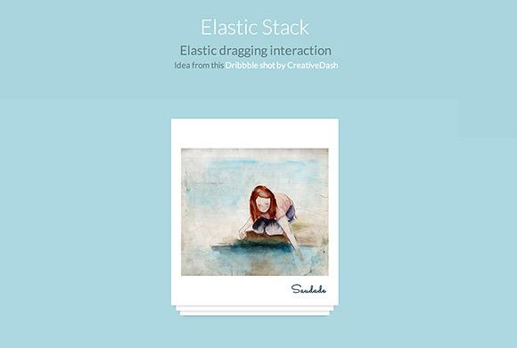 ElastiStack - JS の相互作用をドラッグ