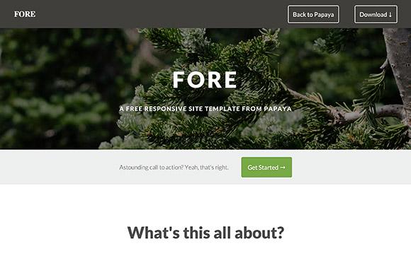 前面 - HTML のウェブサイト テンプレート
