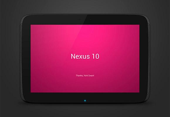 ネクサス 10 PSD モックアップ