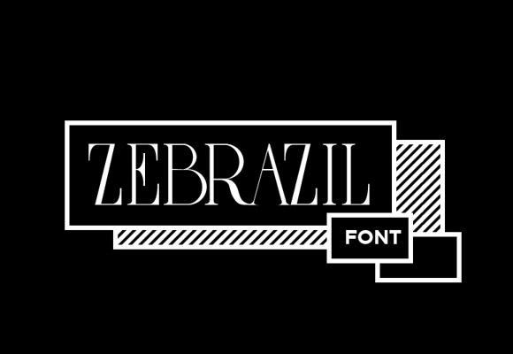 Zebrazil フリー フォント