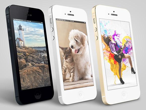 iPhone 3 D モックアップ